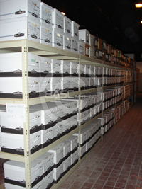 BASC Mfg. Archive Shelving in Salt Lake City, UT, LO-PRO Shelving Systems, Bulk Archival Storage