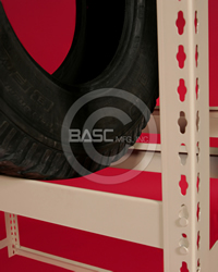 BASC Mfg. Tire Rack Salt Lake City, UT, Tire Storage Rack, Tire Rack Units, Tire Storage, Tire Rack Shelving