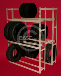 BASC Mfg. Tire Rack, Tire Stroage Rack, Tire Rack Units, Tire Storage, Tire Rack Shelving