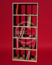 BASC Mfg. X-Ray Filing System Salt Lake City, UT, ALLSTOR X-Ray Filer, Medical Shelving Storage, X-Ray Shelving Storage