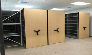 High Density Shelving for a General Contractor