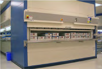 Automated Hospital Storage Solutions from NationWide Shelving