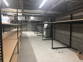 Modular Drawer Cabinets, Clip Shelving, and Bin Shelving for Automotive Dealer in Utah