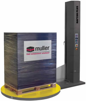 Muller Semi-Automatic Raptor Turntable Stretch Wrap Equipment in Salt Lake City, UT