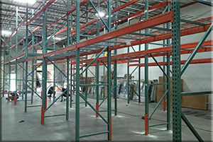 pallet rack moving service