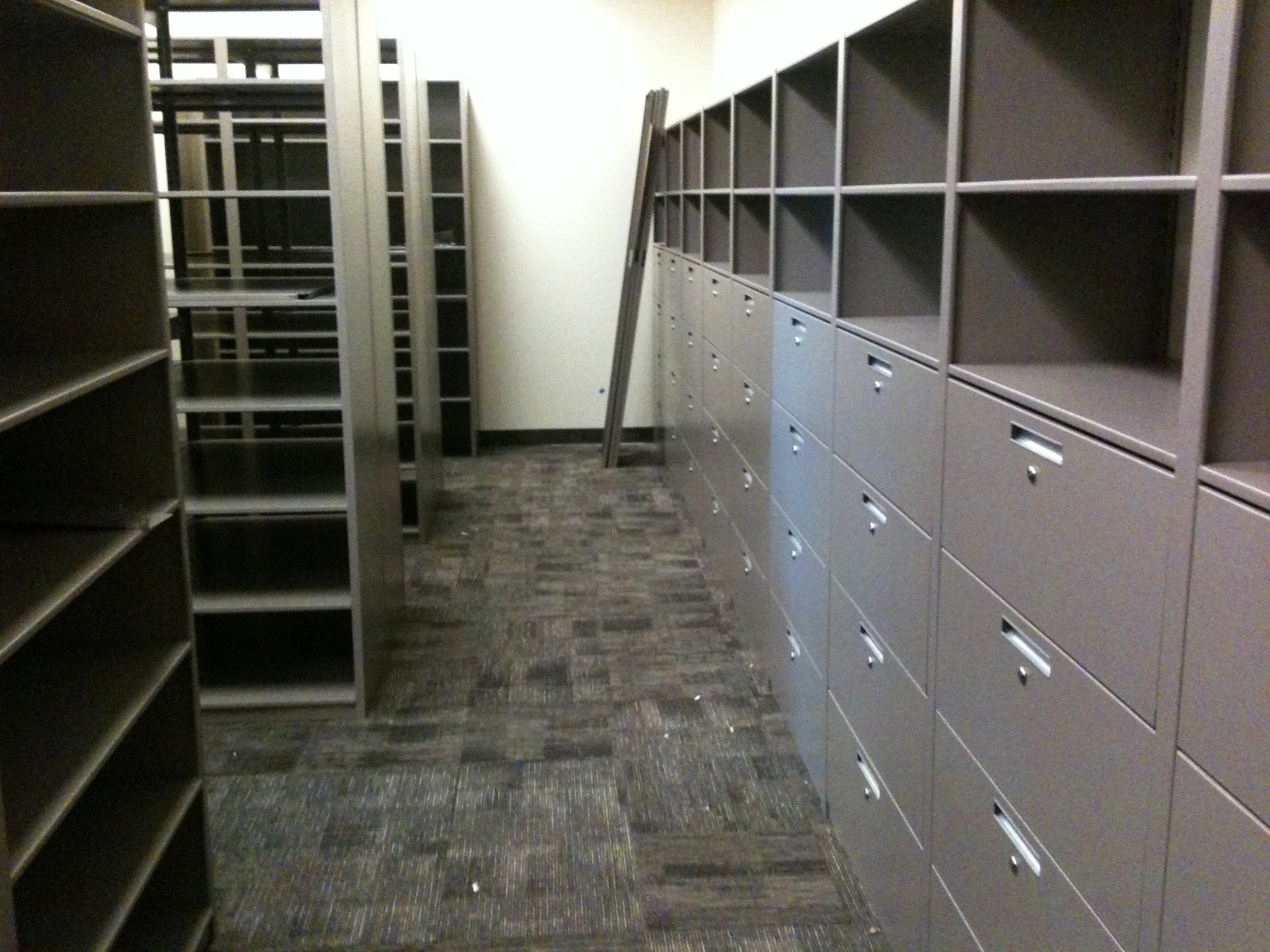 Vernal City Municipal Building Storage Shelving