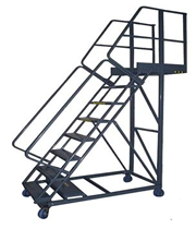 Our Ladders are for industrial and commercial use. You can add stairs to your facility or outside your building