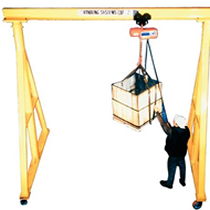 Cranes for lifting heavy objects